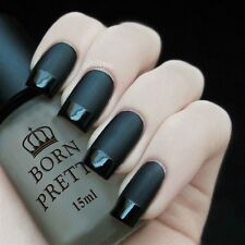 15ml Vernis à ongles - Top coat mat Super Matte Change Surface Oil Nail Polish