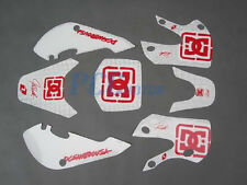 DC GRAPHICS DECAL STICKERS KIT KAWASAKI KLX110 110 H DE30