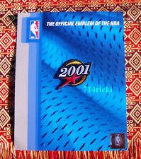 Official 2001 NBA All Star Game patch Kobe Shaq Duncan Iverson Carter Garnett