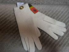 NWT Tory Burch $165.00 100% Cashmere Ivory Moss Stitch Gloves