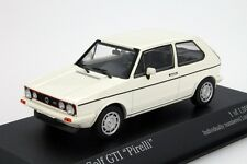 VW GOLF GTI Minichamps 1:43 Car Model Die Cast Models Cars Diecast Metal White