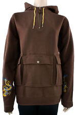 Women's B By Burton Chosen One Hoodie Ski Snowboard Brimstone Brown Size Large L