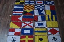 International Maritime Signal Flags / FLAG -Set of Total 26 flag - Total 28 Flag
