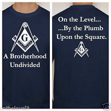 EXCLUSIVE: L,T-shirt, 2-Sided Print, Brotherhood Undivided, Masonic, Freemason
