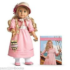 AMERICAN GIRL CAROLINE DOLL WITH ACCESSORIES BOOK NIBS EMILY KIT MOLLY RETIRED