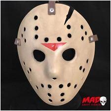 Deluxe Máscara De Hockey De Jason Viernes parte 6 réplica 13th película De Terror Coleccionables