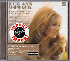 CD 12T LEE ANN WOMACK THERE'S MORE WHERE THAT CAME FROM 2005 NEUF SCELLE USA