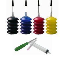 30ml/Bottle BK CMY Ink Jet Cartridge Refill Kit for Printer HP Canon Lexmark