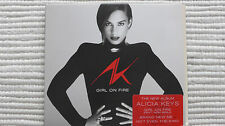 Alicia Keys Girl On Fire (Rare/Mint) UK 2012 PROMO Stickered CD - Never Played
