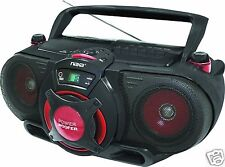 Naxa NPB-259 Portable MP3/CD AM/FM Stereo Radio Cassette Player/Recorder NEW
