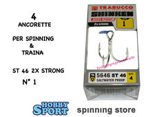 ANCORETTE OWNER TRABUCCO 5646  SERIE ST 46  N 1   INOX  CONF 4 PZ 2X STRONG