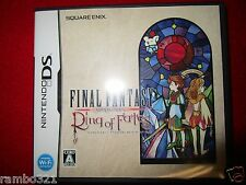 Final Fantasy: Crystal Chronicles -- Ring of Fates Nintendo DS  Japanese JRPG