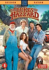 THE DUKES OF HAZZARD : COMPLETE SEASON 7   -  DVD - PAL Region 2 sealed