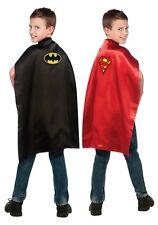Batman & Superman Reversible Child Cape