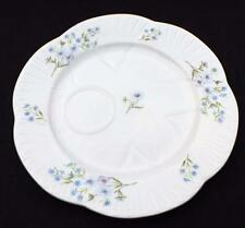 "Vntg SHELLEY Bone China England Dainty BLUE ROCK Pattern #13591 8""d Snake Plate"