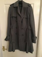 Warehouse Grey Coat Size 10