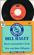 "BILL HALEY 45 TOURS 7"" BELGIUM ROCK AROUND THE CLOCK"