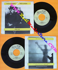 LP 45 7'' VINCE CLARKE PAUL QUINN One day Song for 1985 italy MUTE no cd mc dvd