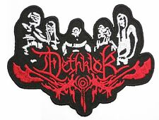 "DETHKLOK Logo Embroidered Iron On Patch Badge 4""/10m"