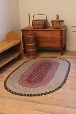BRAIDED JUTE EARTH RUG CAPITOL EARTH RUGS 5 X 8 OVAL MANY COLORS AND SIZES NEW!