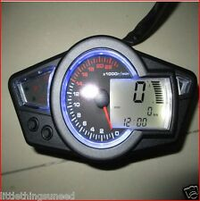 motorcycle,KPH,&,MPH,digital,odometer,speedo,22k,rpm,chop,streetfighter,trike,