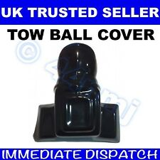 RUBBER TOW BALL COVER for Bolt on type Black / Towing Hitch Cap towball