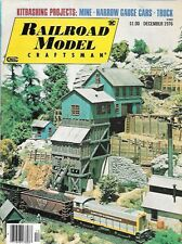 Railroad Model Craftsman Dec 1976 Narrow Gauge Cars Tehachapi Loop Clinchfield