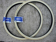 Pair Schwalbe Delta Cruiser 26 x 1 3/8 Bicycle Tyres Town Bike kevlar guard