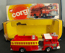 Corgi  ◊Mack Fire Pumper◊ Feuerwehrauto Voiture de pompiers◊1:43 en boîte/boxed