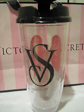 VICTORIA'S SECRET PINK ANGEL WINGS CLEAR CUP TUMBLER 24 OZ.