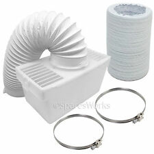 4 Ft Hose Condenser Box with Extra Long Pipe & Clips for ZANUSSI Tumble Dryer
