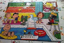 "Vintage Snoopy Jigsaw Puzzle. ""Sports Centre"" 150 pc Boxed, 1 Piece Missing!"