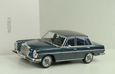 1968 Mercedes Benz 280 SE Limousine W108 Dark blue metallic 1:18 Norev