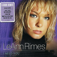 I NEED YOU [3T/JOHNNY M5/LEANN RIMES] [685738763825] NEW CD