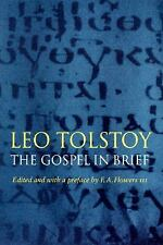 Texts and Contexts Ser.: The Gospel in Brief by Leo Tolstoy (1997, Paperback)