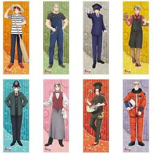 8 pcs Hetalia Axis Powers poster Italy Germany USA UK France Russia Japan anime