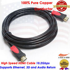 25FT Ultra High Speed HDMI Cable 1080p Full HD ,100% Pure Copper Canadian Seller