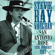STEVIE RAY VAUGHAN New Sealed 2017 UNRELEASED 1987 SAN ANTONIO LIVE CONCERT CD