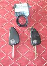 Alfa Romeo 147 1x Ignition Key and Immobiliser Sensor Ring ***ONLY 1 KEY NOW***