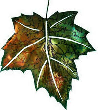 BEAUTIFUL 3D METAL SUMMER MAPLE LEAF WALLHANGING - REFRAXTIONS