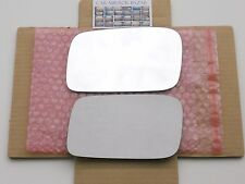 F142L 2009-2012 Acura TL CLEAR WHITE Mirror Glass Driver Side Left LH + Adhesive
