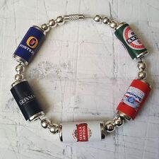 """Unique 'I PUB """"Braccialetto realizzato a mano LAGER BEER PUB cool regalo miniatura Cool"""