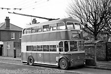 Maidstone Corporation 51 LCD51 BUT Trolley Bus Photo Ref P439