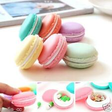6 PC Mini Earphone SD Card Macarons Bag Storage Box Case Carry Pouch Wholesale