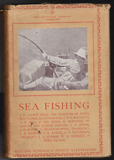 Lonsdale Library Vol XVII in Scarce Dustwrapper - SEA FISHING - 1st Ed 1934