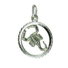 Anhänger Sternzeichen Skorpion 925 Silber C12002-7
