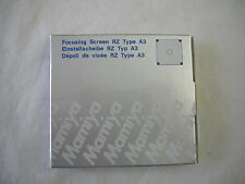 """BRAND NEW"" Mamiya RZ67 A3 Focusing Screen 212-421 for all RZ67 Cameras"