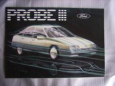 Ford Probe III folleto/brochure/depliant, NL/F