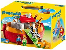 Playmobil 6765 1.2.3 Noah's Ark Pairs Of Animals