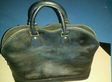 LOUIS VUITTON Epi Black Alma PM Satchel Handbag JUNK